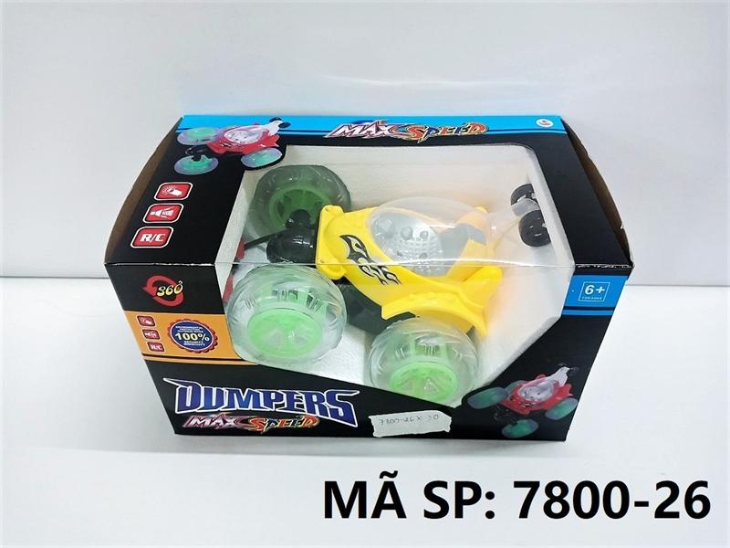 7800-26 HỘP XE ĐK LỘN, CÓ SẠC Dumpers Max Speed