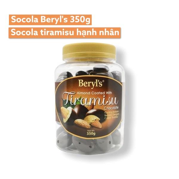 SOCOLA BERYL'S 350G - SOCOLA TIRAMISU HẠNH NHÂN