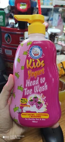 tắm pureen kids 750ml