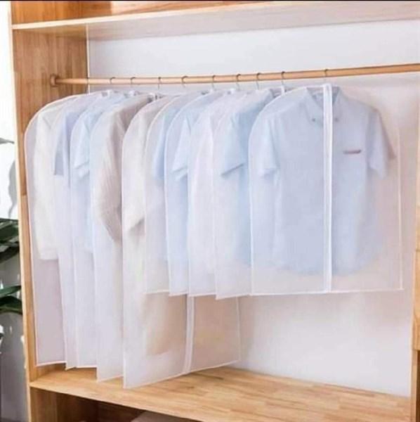set 4 túi treo quần áo chống bụi