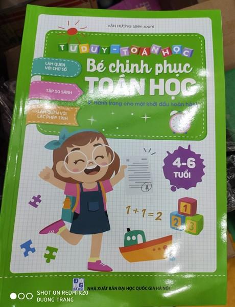 sách bé chinh phục toán học