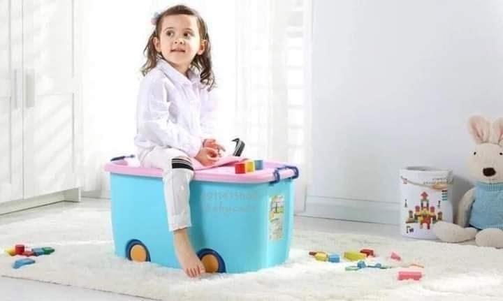thùng đồ chơi bánh xe cỡ đại