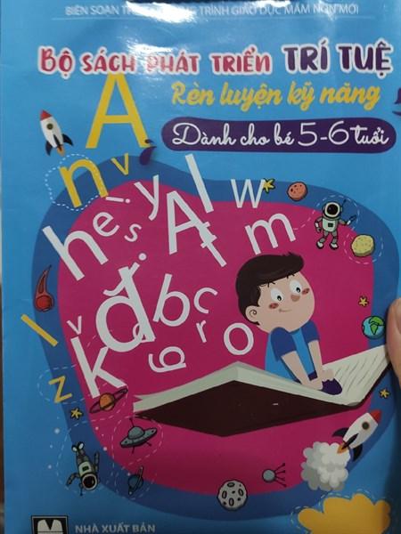 set sách cho bé 5-6 tuổi