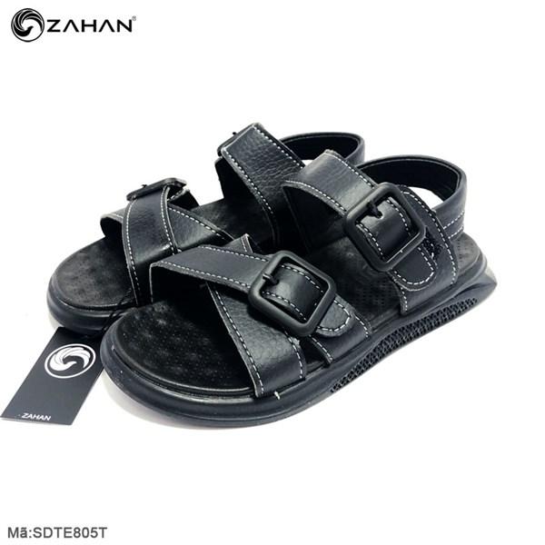Sandal bé trai, quai chéo, size Trung SDTE805T