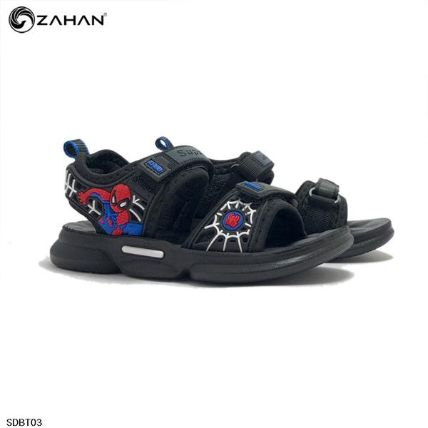 Sandal bé trai thể thao người nhện SDBT03
