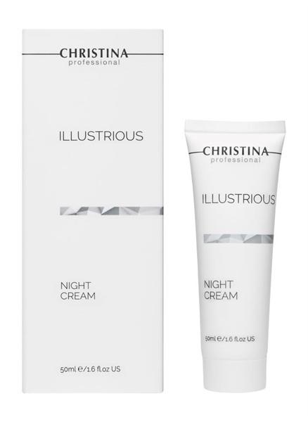 Christina ILLustrious - Night Cream - Kem dưỡng làm trắng trị nám và chống nhăn 50ml