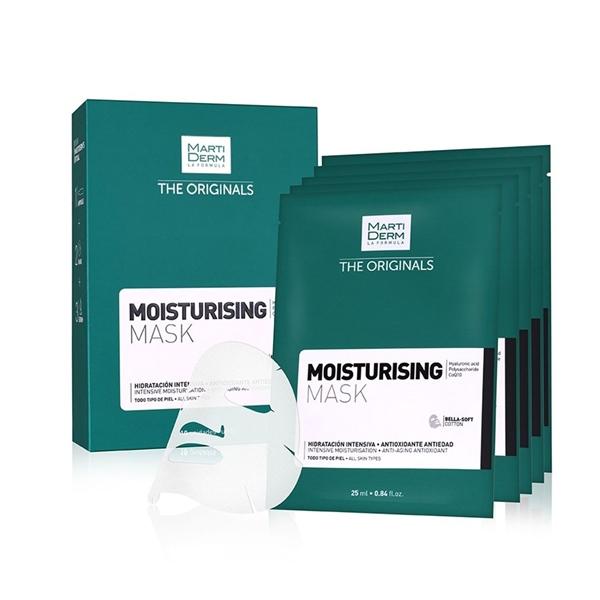 MartiDerm Moisturizing Mask - Mặt nạ làm trắng giảm sắc tố (hộp 10 miếng)