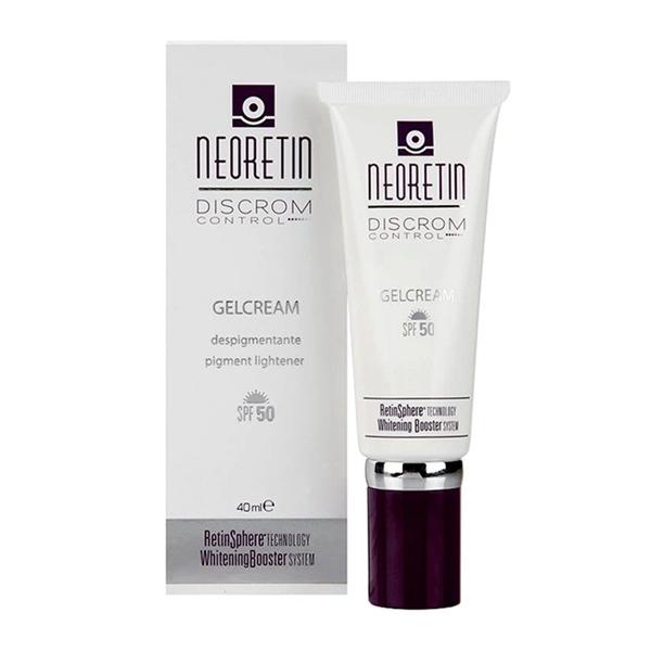 Neoretin Gel Cream - Gel chống nắng giúp giảm sạm nám, bảo vệ da trước tia UV - 40ml