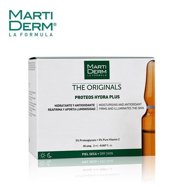 MartiDerm Proteos Hydra Plus - Ampoule cấp ẩm phục hồi da hư tổn (2ml x 30ea)