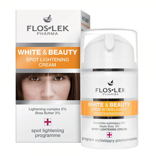 Floslek - Spot Lightening Cream - Kem làm sáng da mờ thâm sạm - 50ml