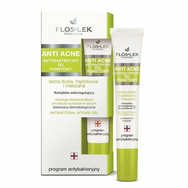 Floslek - Antibacterial Intense Gel - Gel đặc trị mụn diêt khuẩn - 20ml