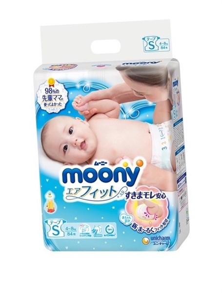 Bỉm Moony S84 dán