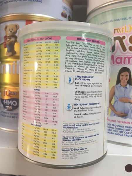 Sữa Tensai Milk Mama 400g