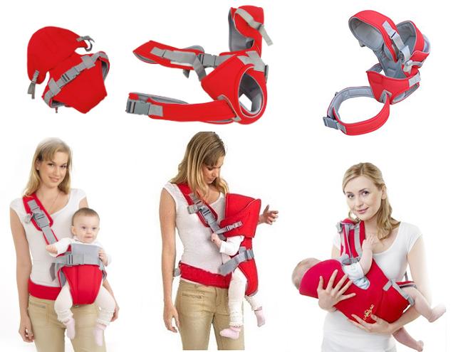 Địu trẻ em 4 tư thế hàng Baby Carier