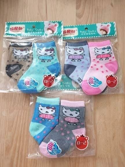 Set 2 đôi tất Baby Socks