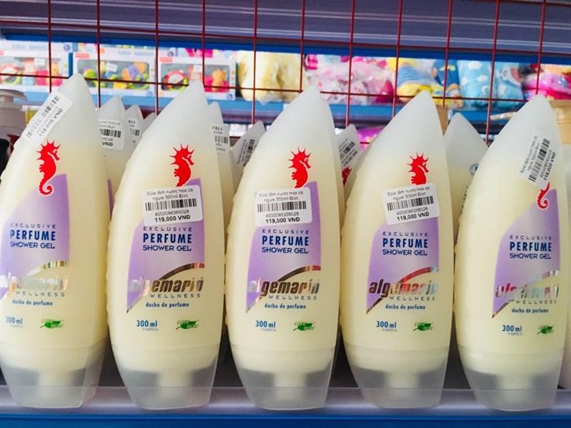 Sữa tắm nước hoa cá ngựa Đức 300ml