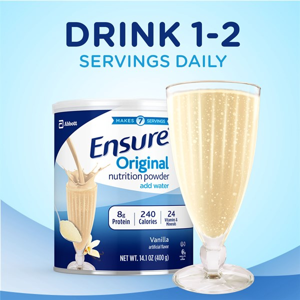Sữa Ensure Original Nutrition Powder Mỹ 400g - Hàng xách tay
