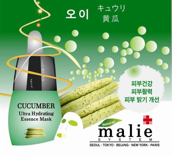 Mặt nạ dưỡng da dưa leo Malie Hàn Quốc