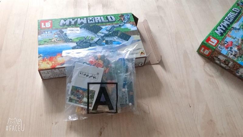 Bộ Lego xếp hình Myworld 141 chi tiết