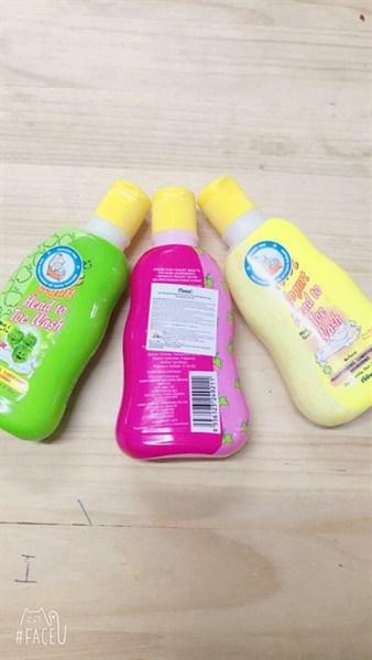 Sữa tắm gội cho bé Pureen Kids Yogurt 150ml