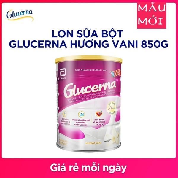 Sữa Glucerna Hương Vani 850g