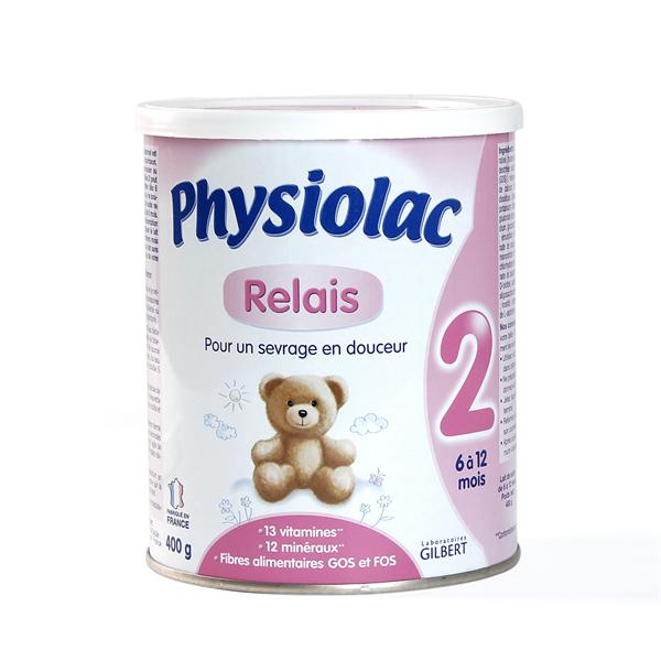 Sữa Physiolac số 2 hộp 400g