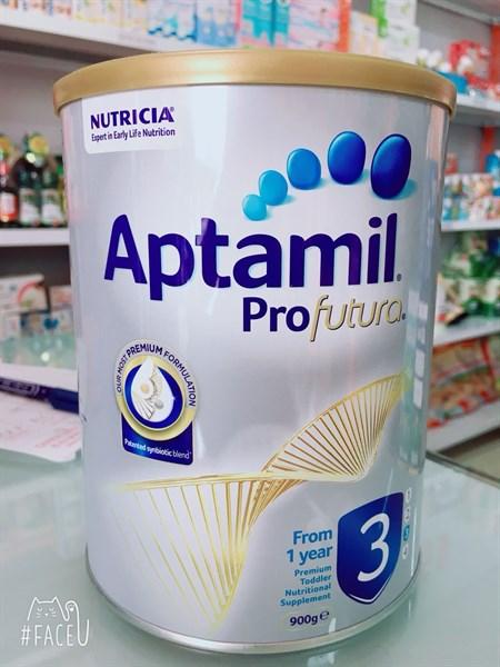 Sữa Aptamil nội địa Úc xách tay 900g - số 3 (hộp lon)