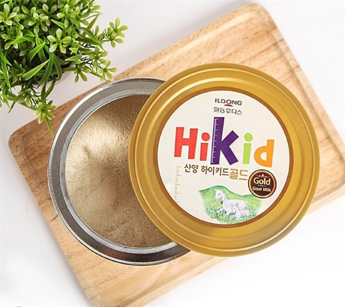 Sữa dê Hikid nhập khẩu Hàn Quốc 700g