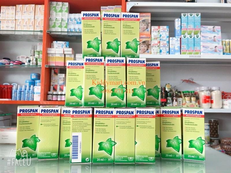 Tinh chất trị ho Prospan 20 ml nội địa Đức xách tay