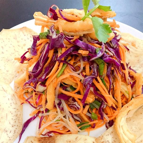 Miến trộn Thái - Mixed cellophane noodle & veggies