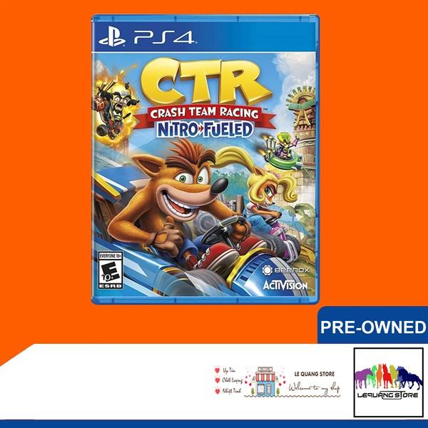Đĩa Game PS4: Crash Team Racing Nitro-Fueled