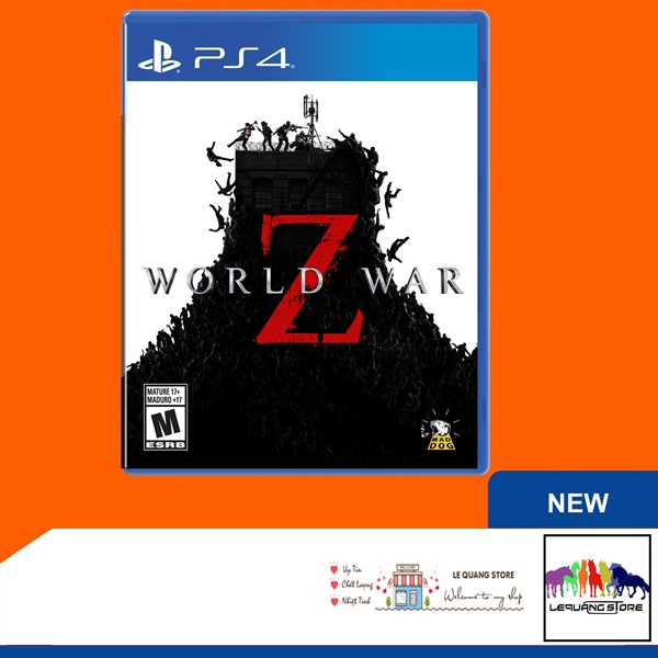 Đĩa Game PS4: World War Z