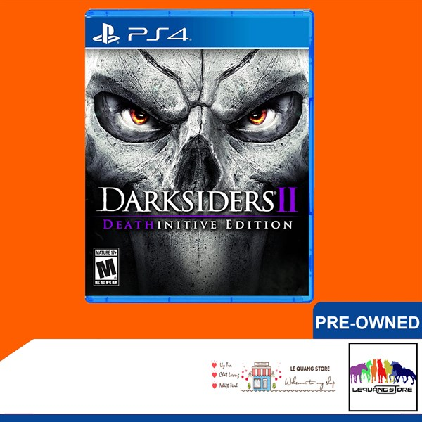 Đĩa Games PS4: Darksiders 2: Deathinitive Edition