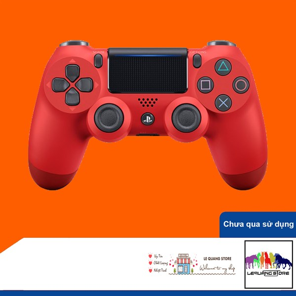 Tay Cầm PlayStation PS4 Sony Dualshock 4 Red