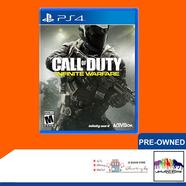 Đĩa Game PS4: Call of Duty: Infinity Warfare