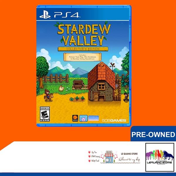 Đĩa Game PS4: Stardew Valley Collectors Edition