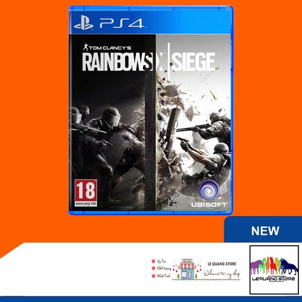 Đĩa Game PS4: Tom Clancy's Rainbow Six Siege