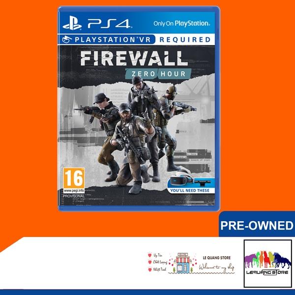 Đĩa Game PS4: Firewall Zero Hour