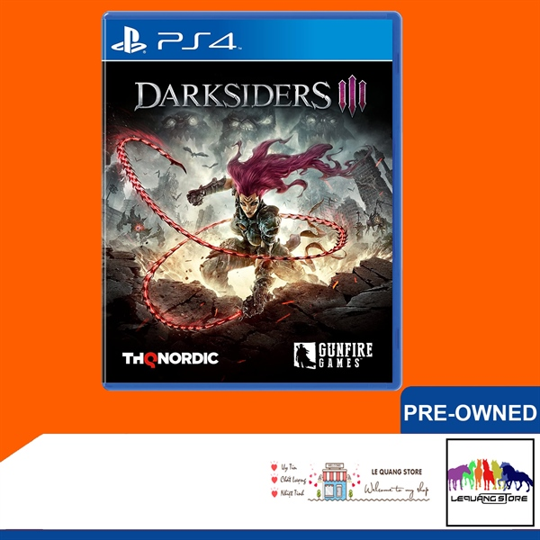 Đĩa Games PS4: Darksiders 3