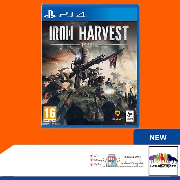 Đĩa Game PS4: Iron Harvest (31/12/2021)
