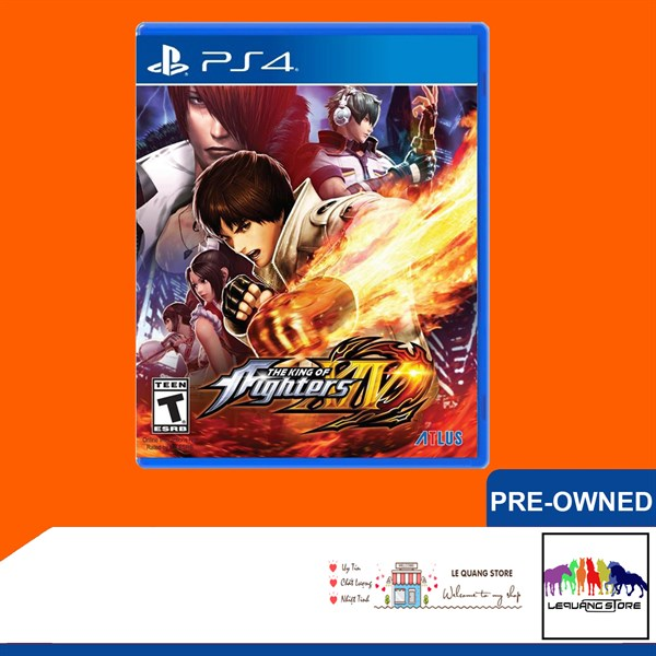 Đĩa Game PS4: The King Of Fighters 14