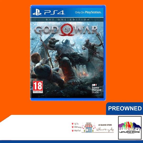 Đĩa Game PS4: God of War 4