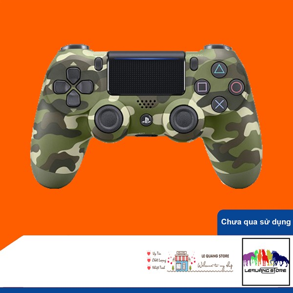 Tay Cầm PlayStation PS4 Sony Dualshock 4 Green Camouflage
