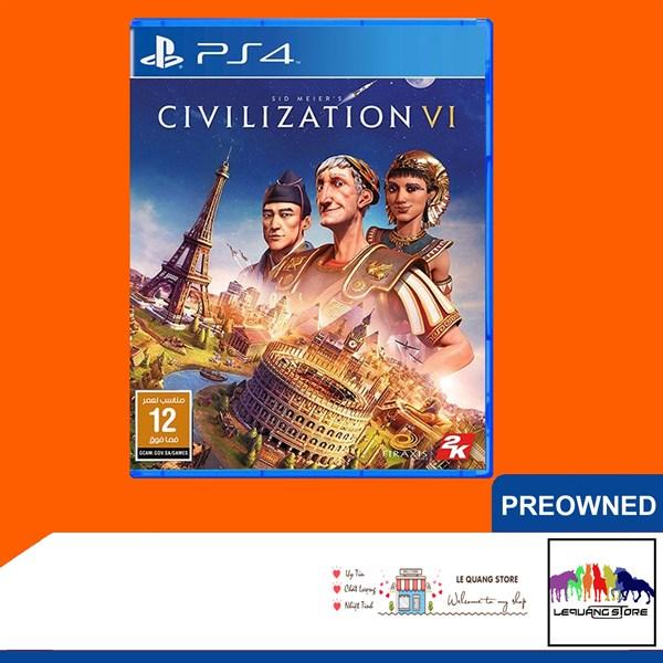 Đĩa Game PS4: Civilization VI