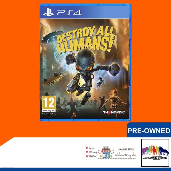 Đĩa Game PS4: Destroy All Humans!
