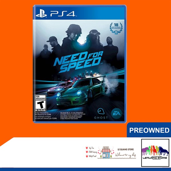 Đĩa Game PS4: Need for Speed