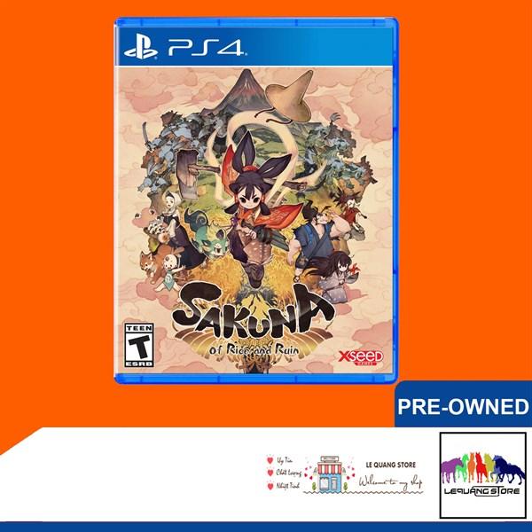 Đĩa Games PS4: Sakuna: Of Rice and Ruin