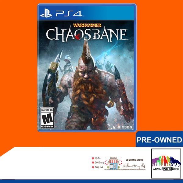 Đĩa Game PS4: Warhammer: Chaosbane