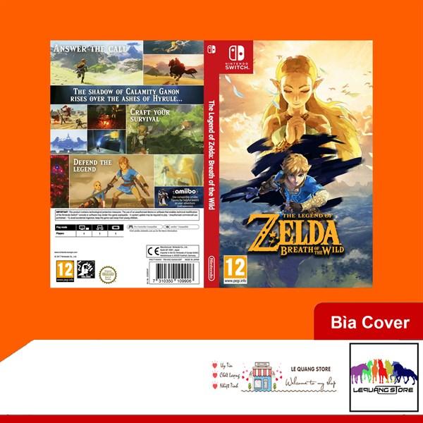 Bìa Cover Nintendo SW