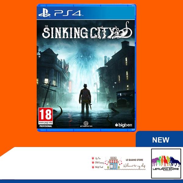 Đĩa Game PS4: The Sinking City